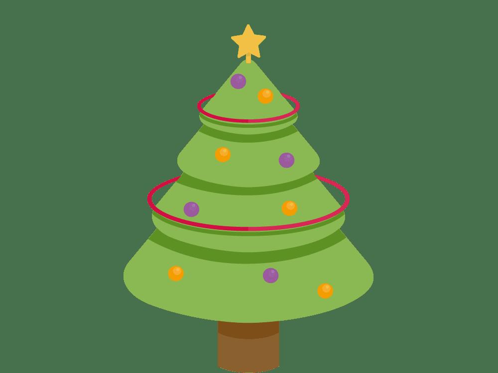 Geschenkbaum zu Weihnachten