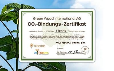 GWI erweitert Angebot um CO₂-Zertifikat
